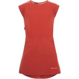 TROLLKIDS Arendal Vestido Niñas, rojo